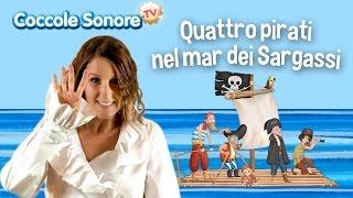 Quattro pirati nel mar dei Sargassi - Balliamo con Greta - Canzoni per bambini di Coccole Sonore