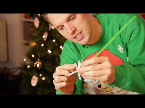 Make Your Own Salt Snowflake Christmas Decorations
