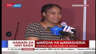 Warsha ya wanasheria :DPP Noordi Hajji akutana na wadau Naivasha