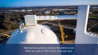 Sugar Storage || American Crystal Sugar || Montgomery, Illinois, USA