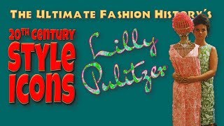 20th CENTURY STYLE ICONS: Lilly Pulitzer
