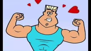 sistema muscolare cartone animato