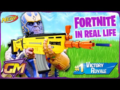 Fortnite Avengers Kids Endgame In Real Life!!