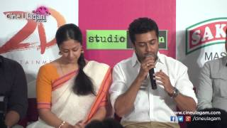 36 Vayathinile Movie Success Meet | Jyothika, Suriya