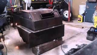 Cutting steel with an Arc Welder