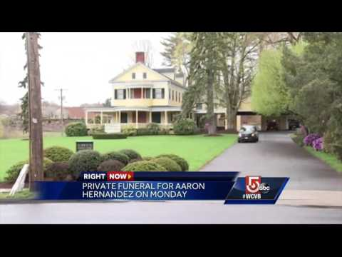 Private funeral for Aaron Hernandez set for Monday