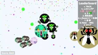 Agar.io//Using Sirius's Name w/ Ghost Agario+Server Domination