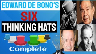#Six #Thinking #Hats Complete With Edward de Bono
