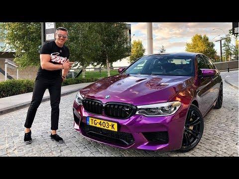 Download Mp3 Yenİ Bmw M5 Metallic Purple Kaplama