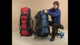 BASK Anaconda 120 и Python 120 рюкзаки туристические
