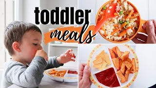 TODDLER MEAL IDEAS! | HEALTHY LUNCH IDEAS FOR KIDS