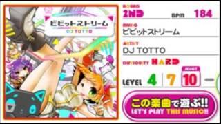 REFLEC BEAT Groovin'!! Upper ビビットストリーム / DJ TOTTO