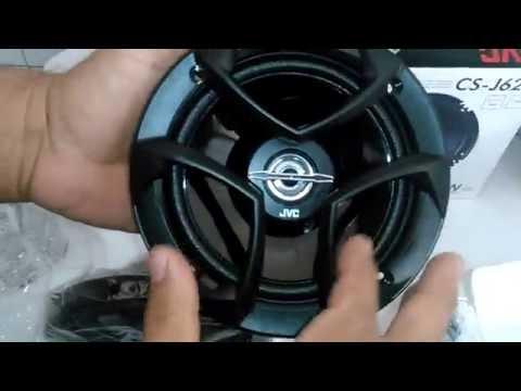 Bocinas JVC CS-J620 | Unboxing - Autosound
