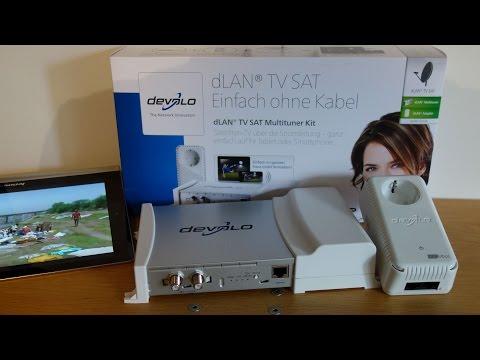 Satelliten-TV über das Stromnetz - HIZ032