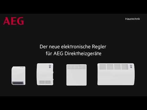 Integrierter, elektronischer Regler für elektrische Heizgeräte