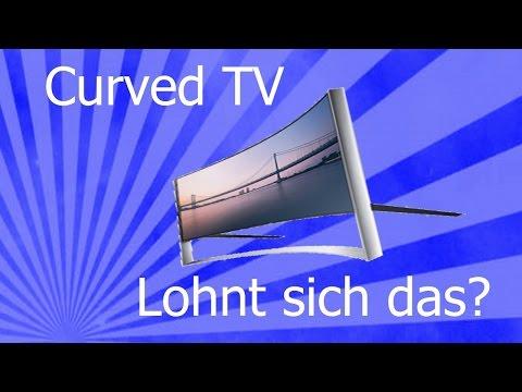 Curved TV lohnt sich das?