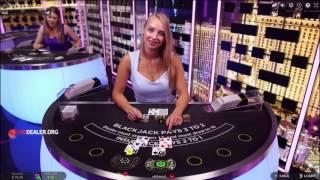 Live blackjack in 888's Elite Lounge
