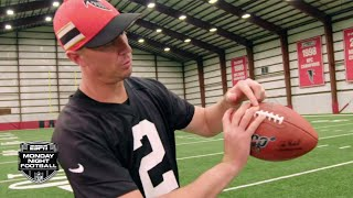 Tom Brady, Russell Wilson, Matt Ryan and other NFL QBs describe their grips | Monday Night Countdown