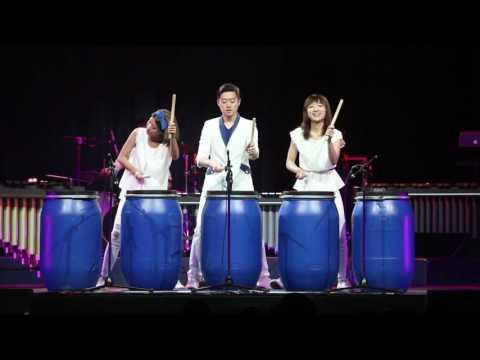 PUNCH打擊樂團 in 2016華穗藝術節 藍桶狂想