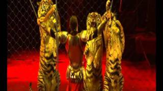 Смотреть онлайн Браться Запашные выступают с тиграми и львами