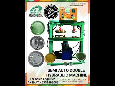 Hydraulic Auto Buffet Paper Plate Making Machine