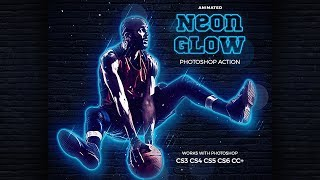 Neon Glow Photoshop Tutorial
