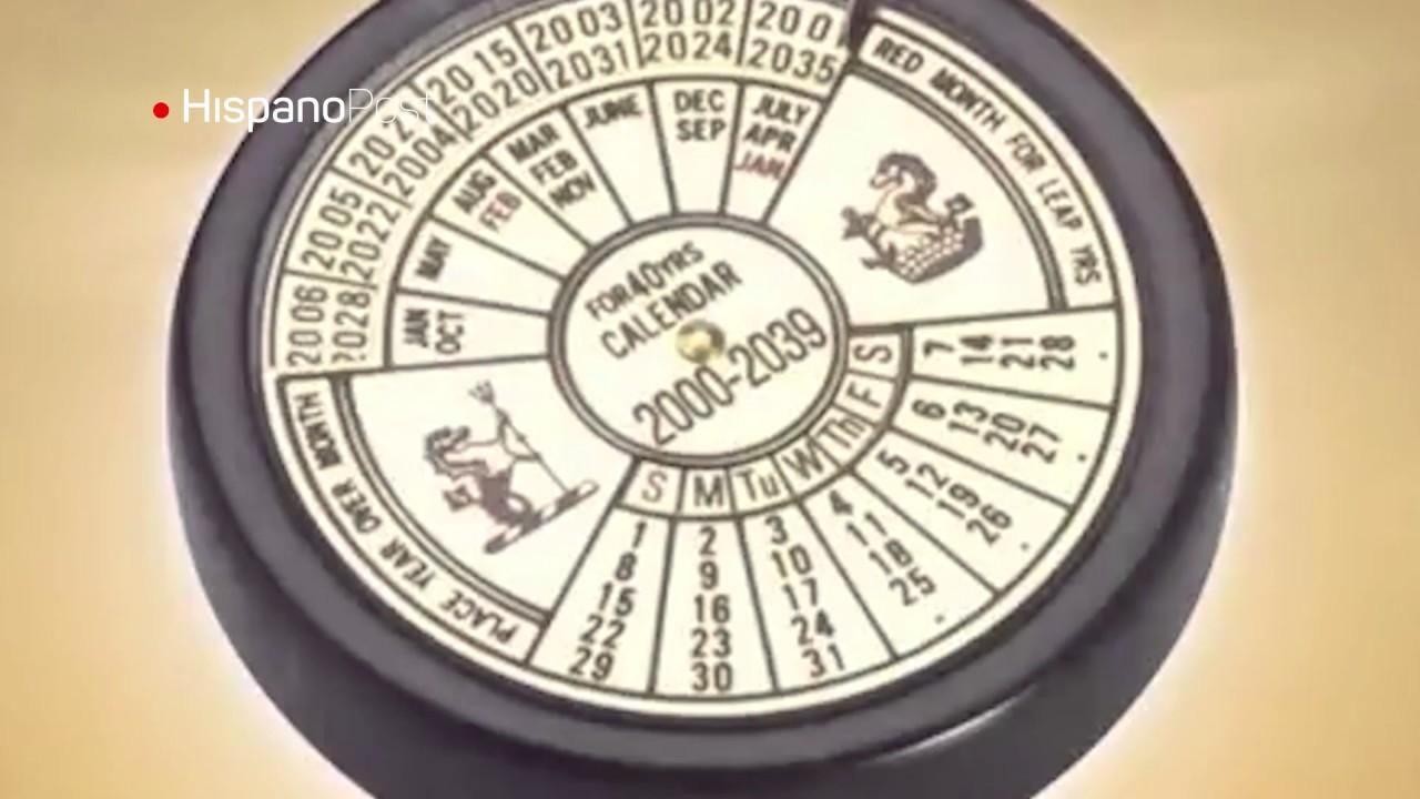 Joven argentino memoriza calendario de hace más de 300 años