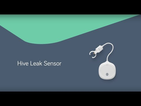 Video introduce Hive Leak Sensor. Video hosted and owned by third party.