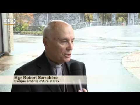 Mgr Robert Sarrabère - Evêque émérite d'Aire et Dax
