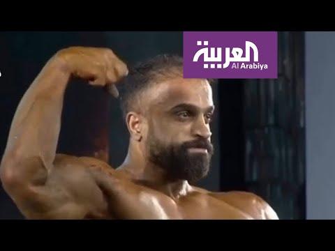 العرب اليوم - شاهد: محاولة اغتيال العراقي العزاوي بطل آسيا لبناء الأجسام