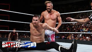 Did Mike Kanellis finally prove to Sami Zayn that love conquers all?: WWE Battleground 2017