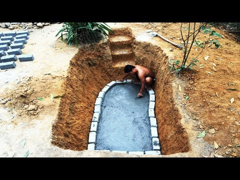 Primitive Life:Build Fish Pond-Exist Forever-Meticulous!