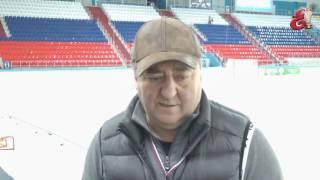 Сергей Ломанов о матче с   Водником  25 03 2017