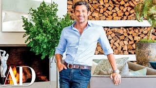 Patrick Dempsey Gives a House Tour of His Malibu Home Designed by Frank Gehry | Architectural Digest - dooclip.me