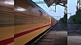 High-Speed Action Through Ernakulam -Thrissur Section. Alappuzha -MGR Chennai Central Covid Special