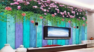 Beautiful 3d Flowers Wallpapers For Living Room
