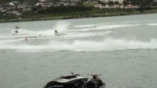 preview picture of video 'Porirua Wellington Jetski Race  1'