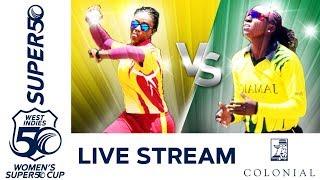 LIVE Leewards vs Jamaica   Colonial Medical Insurance Women's Super50 Cup 2019