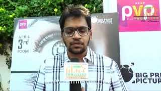 Editor Ruben  at Grahanam Movie Launch