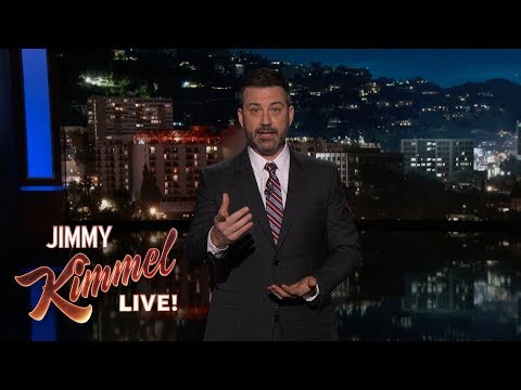 Jimmy Kimmel on School Shooting in Parkland, Florida