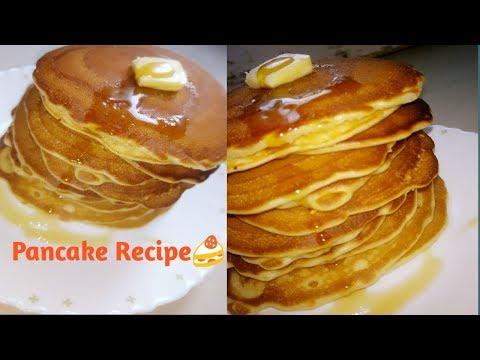 Pancake Recipe in Hindi पैनकेक बनाने की विधि | How to Make Pancake at Home in Hindi by poojarani