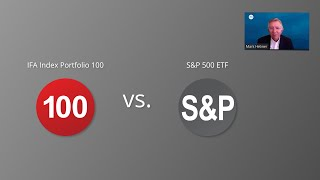 The IFA Index Portfolio 100 vs. S&P 500 ETF