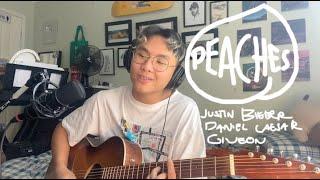 peaches - justin bieber, daniel caesar, giveon (chill acoustic cover)