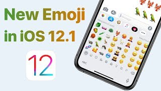 New Emoji in iOS 12.1