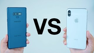 Samsung Galaxy Note 9 vs Apple's New 2018 iPhone Lineup