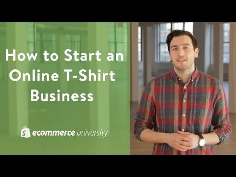 Small Business Ideas: How to Start an Online T-Shirt Business