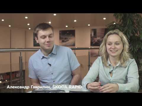 Skoda  Rapid Лифтбек класса B - рекламное видео 2
