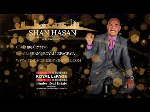 SOLD SOLD  277 WOODVIEW, ESSEX, ONTARIO - SHAN HASAN