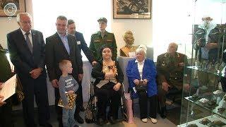 В Новосибирске открыли выставку, посвящённую памяти Героя Советского Союза Дмитрия Бакурова