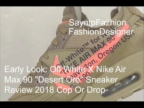 Early Look: Off White X Nike Air Max 90